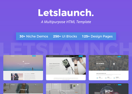 Letslaunch - A Clean Multipurpose