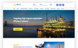 Industrial Business Responsive WP theme - Offshore WordPress Theme