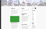 Kraj - Music Band WordPress Theme