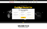 "Website Vorlage namens ""CarRent - Car Rental And Hire"""
