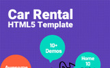 "HTML шаблон ""CarRent - Car Rental And Hire"""