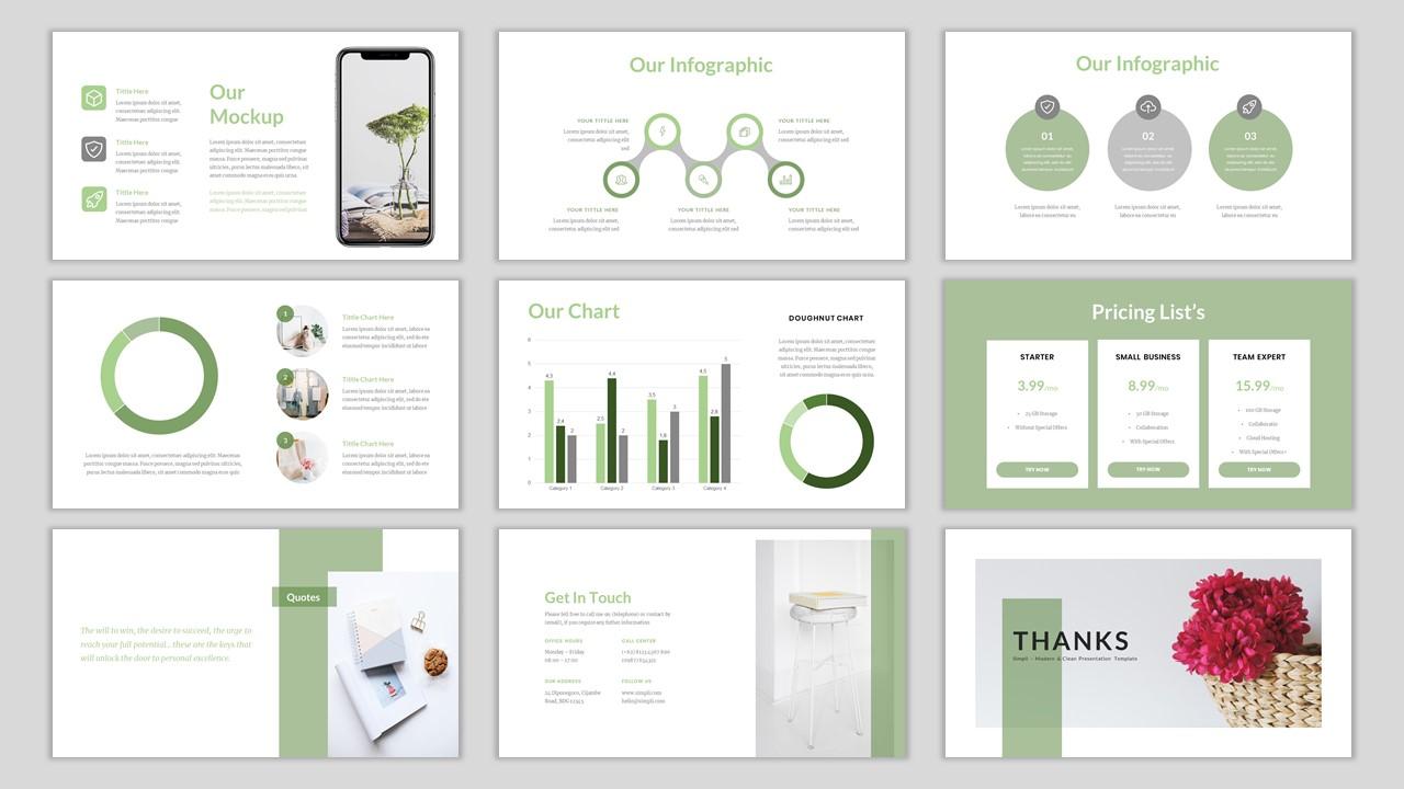 Simpli - Simple & Modern Business PowerPoint Template