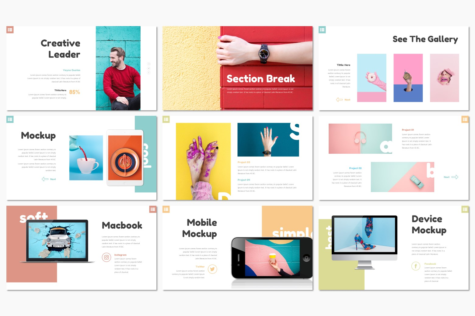 Daisy Presentation PowerPoint Template