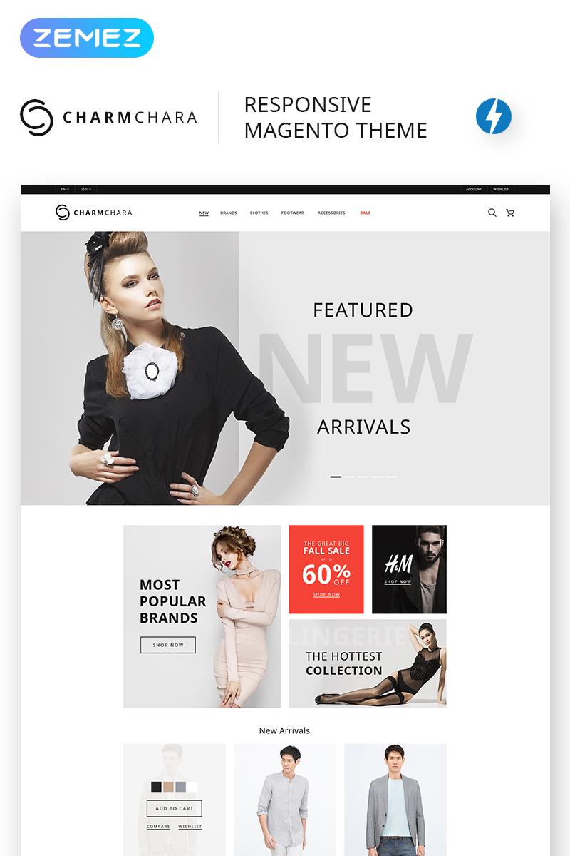 CharmChara - Fashion Store Magento Theme