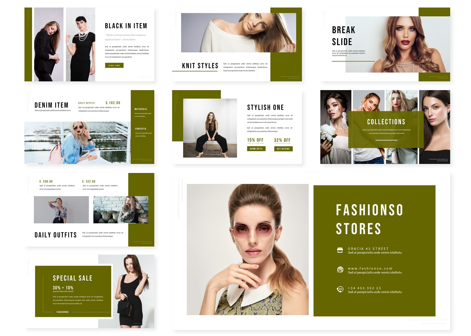 Fashionso | PowerPoint Template