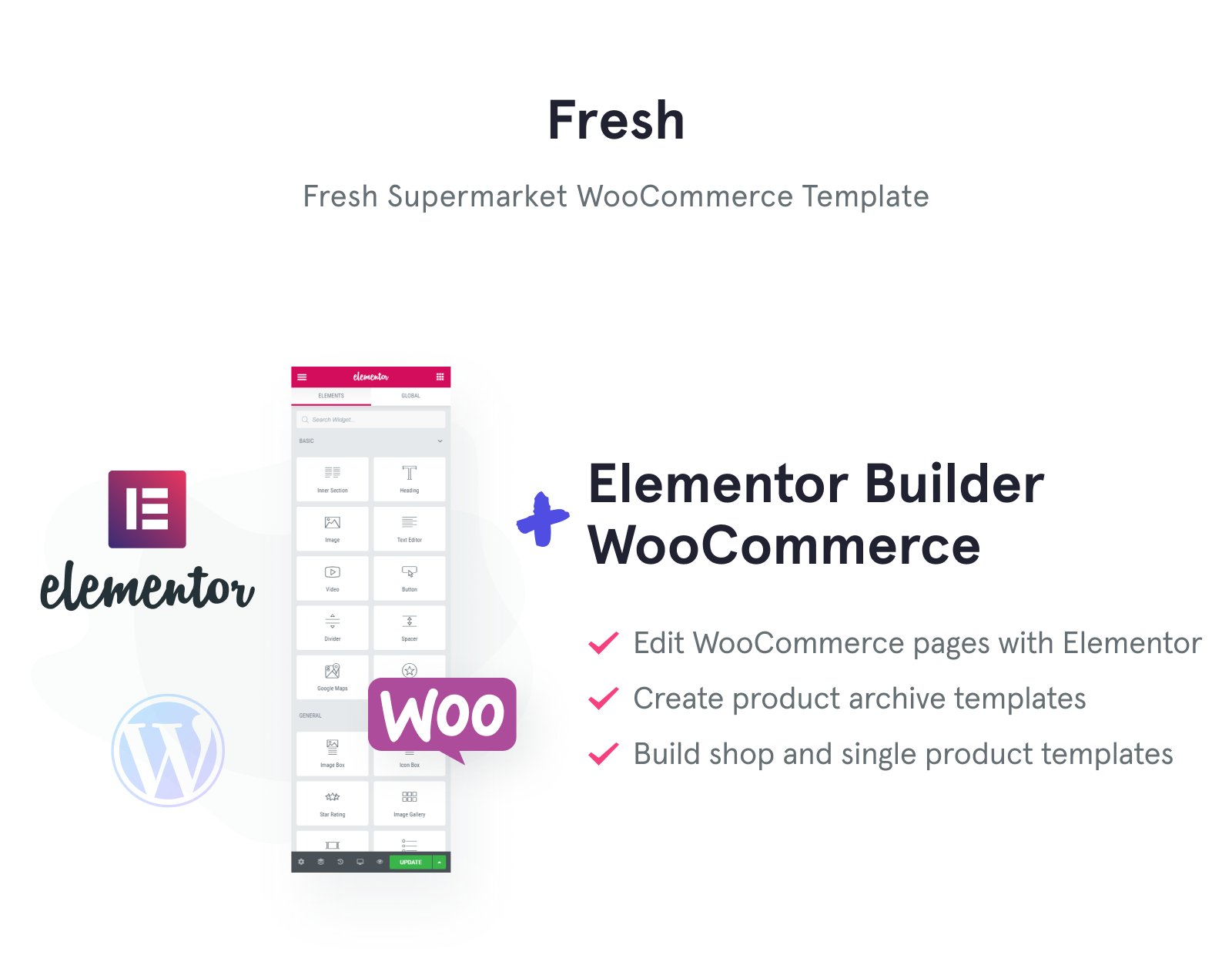 Fresh Fresh - Supermarket Woocommerce Template for easy sales WooCommerce Theme
