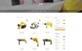 Responsives WordPress Theme für Baufirma