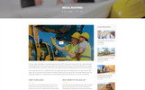 "Template WordPress Responsive #68545 ""Trowel - Construction"""