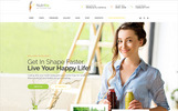 """Nutritia - healthy nutrition and dietology"" Responsive WordPress thema"