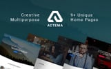 Actema - Creative Business Multipurpose WordPress Theme