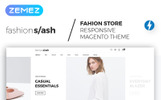 Szablon Magento Fashion Slash - AMP Fashion Boutique #66285