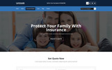 SAFEGUARD for Insurance Services PSD Template