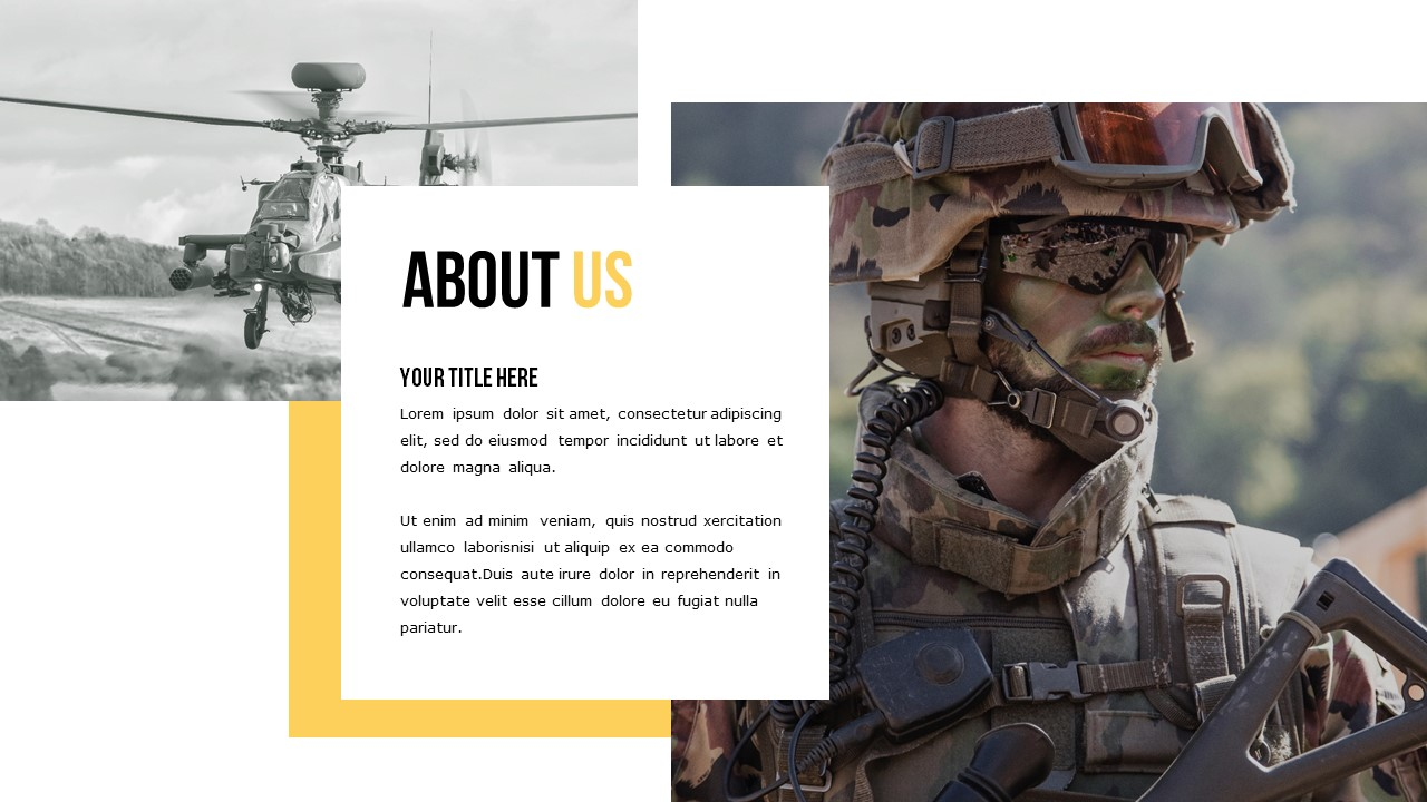 Best Military 2020 PowerPoint Template