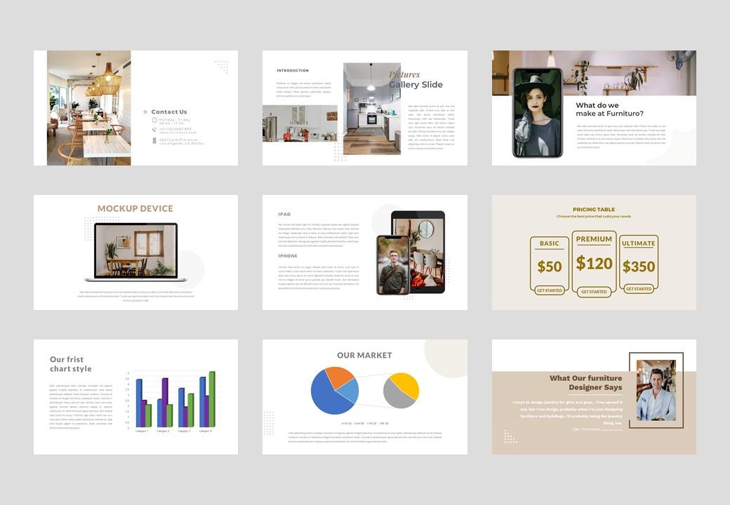 Furnituro PowerPoint Template
