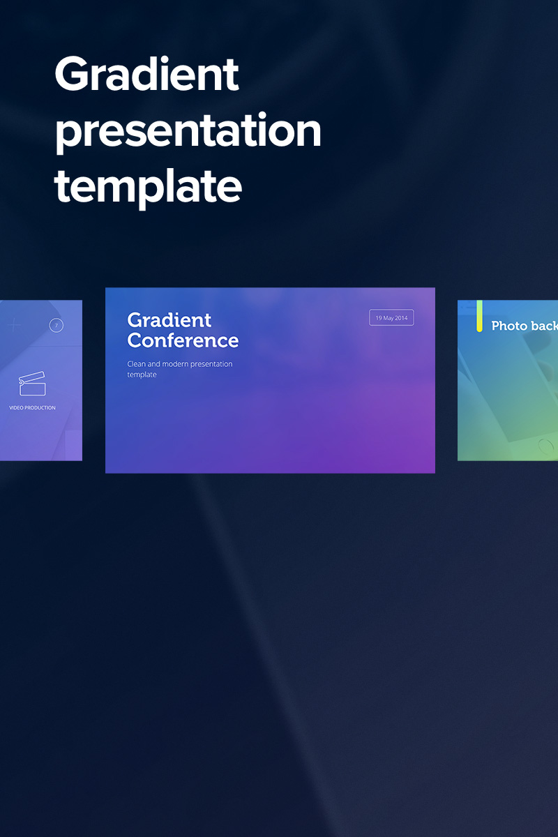 Gradient powerpoint template 65017 toneelgroepblik Choice Image