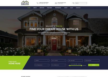 Sheltek - Real Estate Responsive