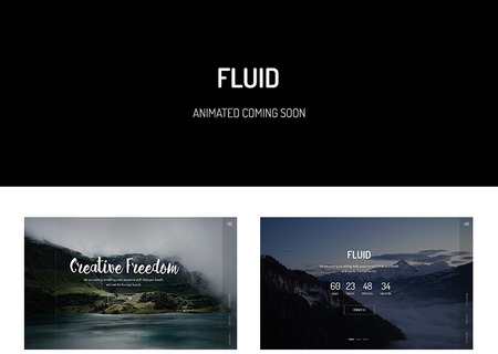 Fluid — Animated Coming Soon