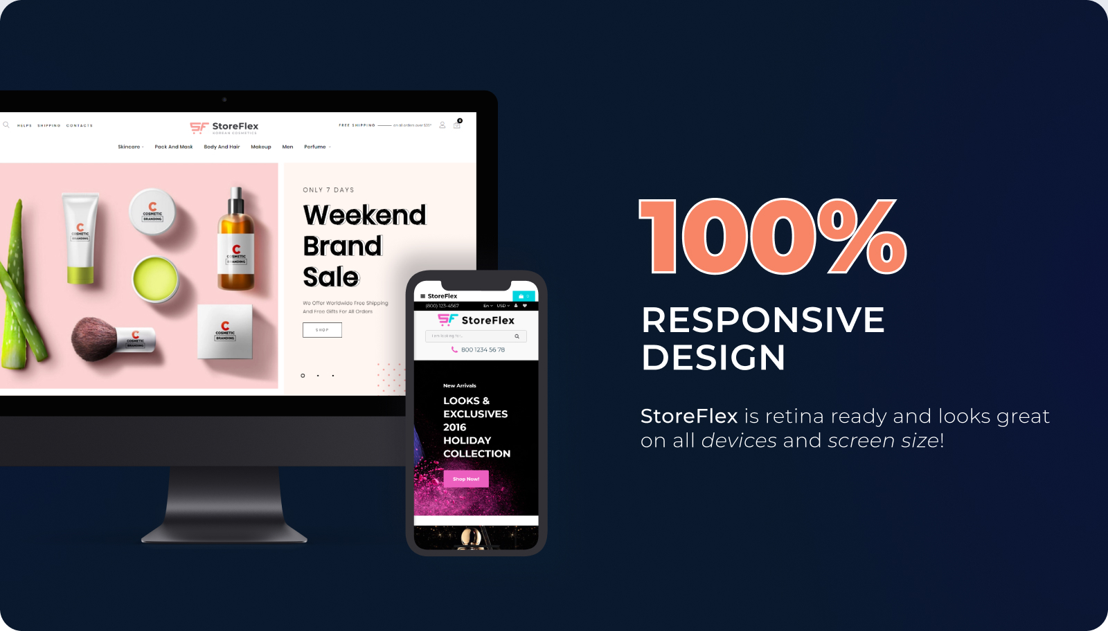 StoreFlex - Responsive Multipurpose Template + RTL OpenCart Template