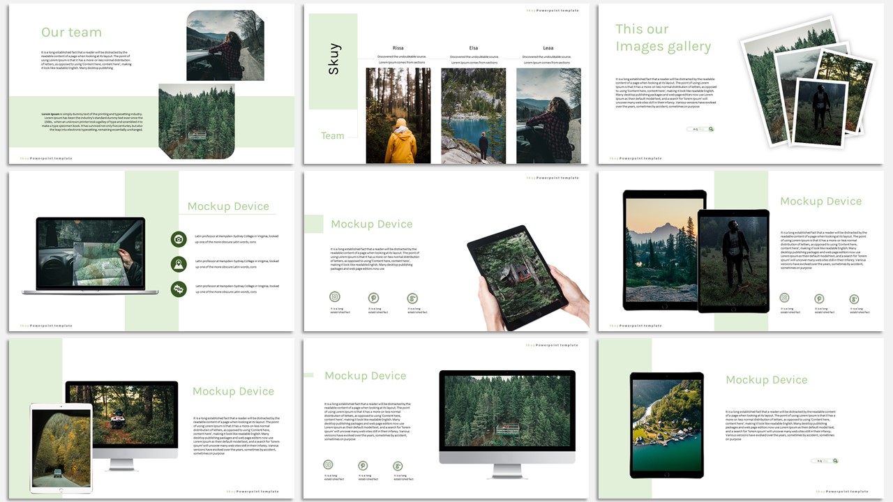 Skuy – Creative Business PowerPoint Template