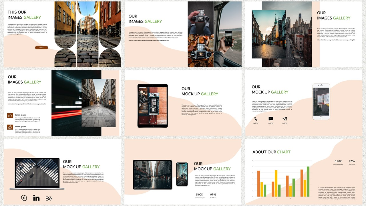 Photo Rafi – Creative Business PowerPoint Template