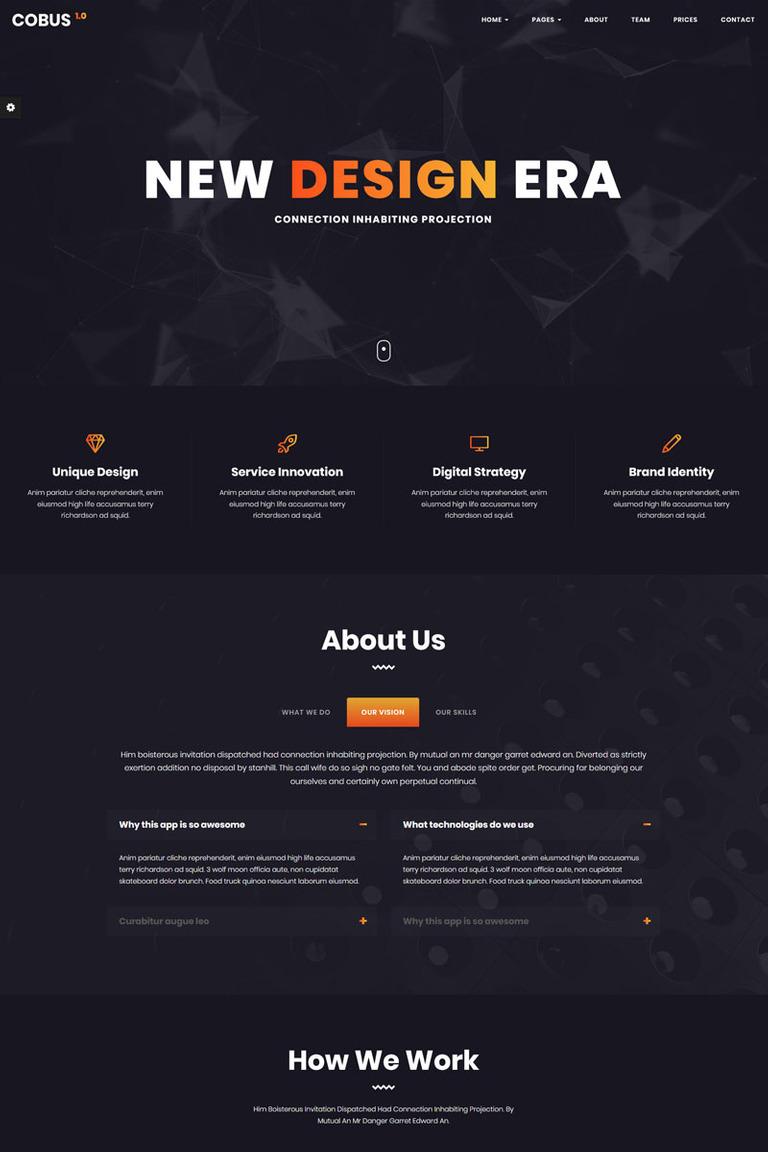 Website Vorlage #68599 für Web Design