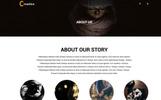 Шаблон PSD для создания сайта креативного агентства или портфолио