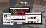 HYBRID - Powerful eCommerce Drupal Commerce Theme