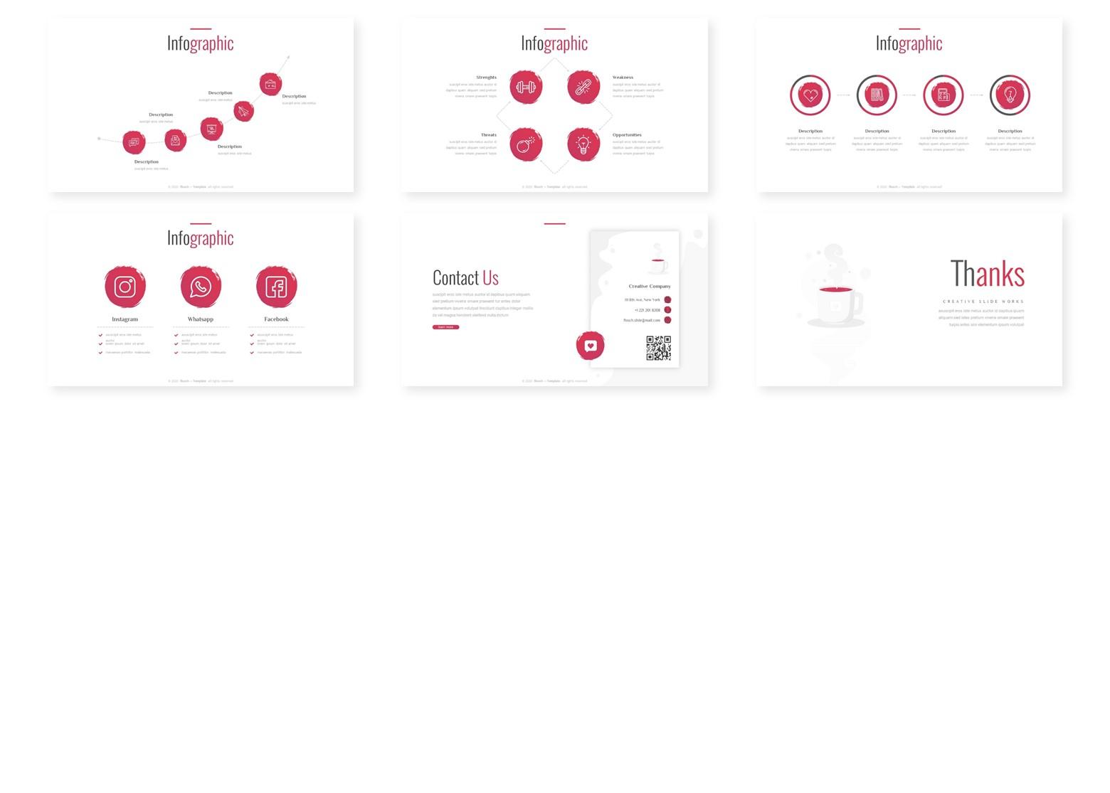 Flosch - Multipurpose PowerPoint Template