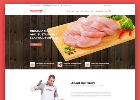 Meat Shop eCommerce