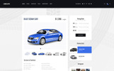 """Limoguys - Car Rental and Service"" modèle PSD"