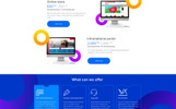 AVAMEDIA - Creative Agency PSD Template