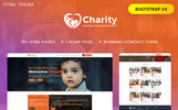 "HTML шаблон ""Charity : Crowd fund, Non Profit"""