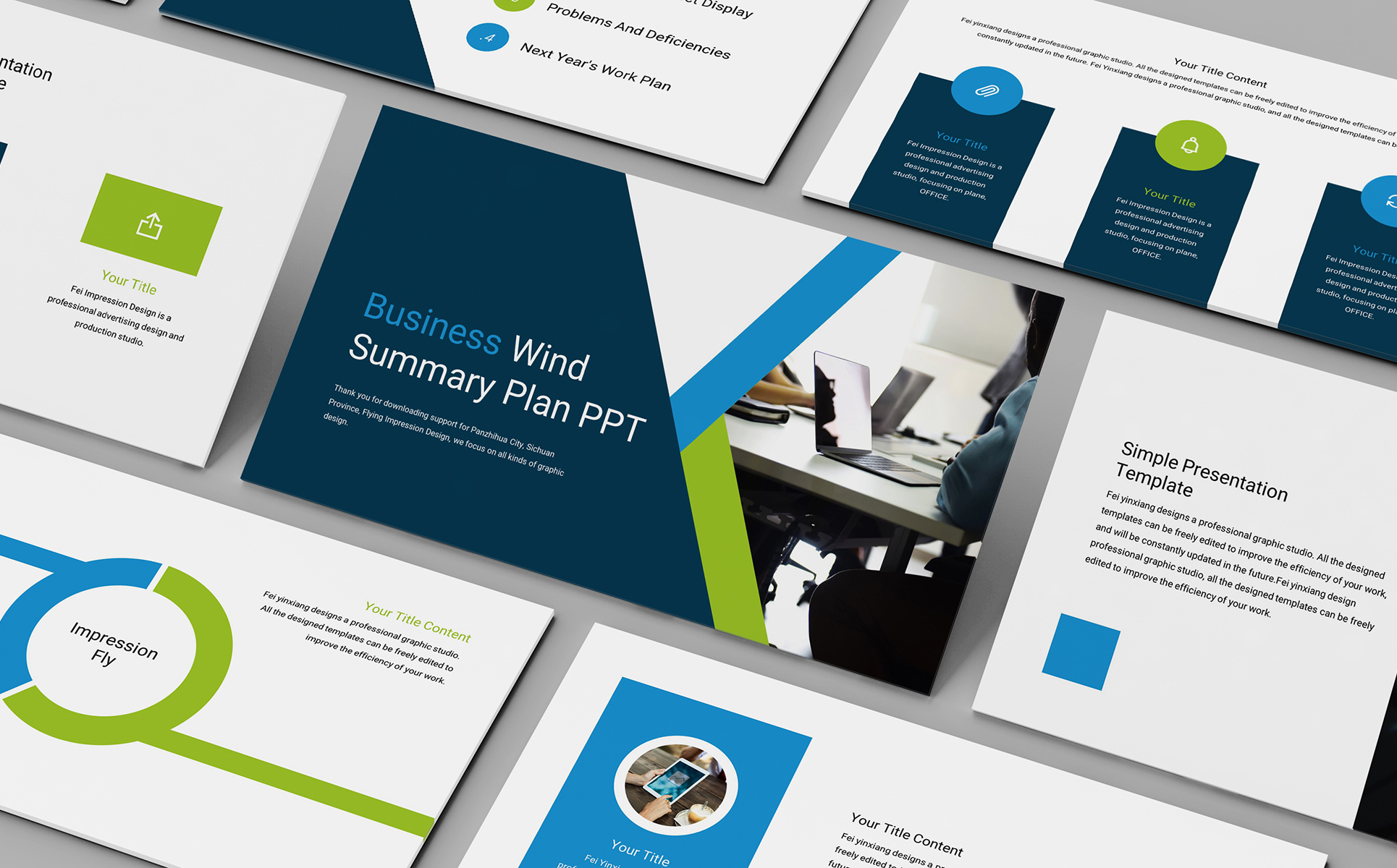 General Business Company PowerPoint Template