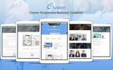 Cluster - Corporate Website Template