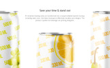 Soda Can Animated Product Mockup