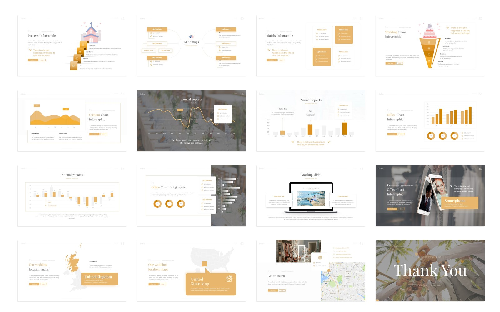 Endless – Marriage Presentation PowerPoint Template