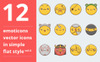 Emotions vector vol.4 Iconset Template Big Screenshot