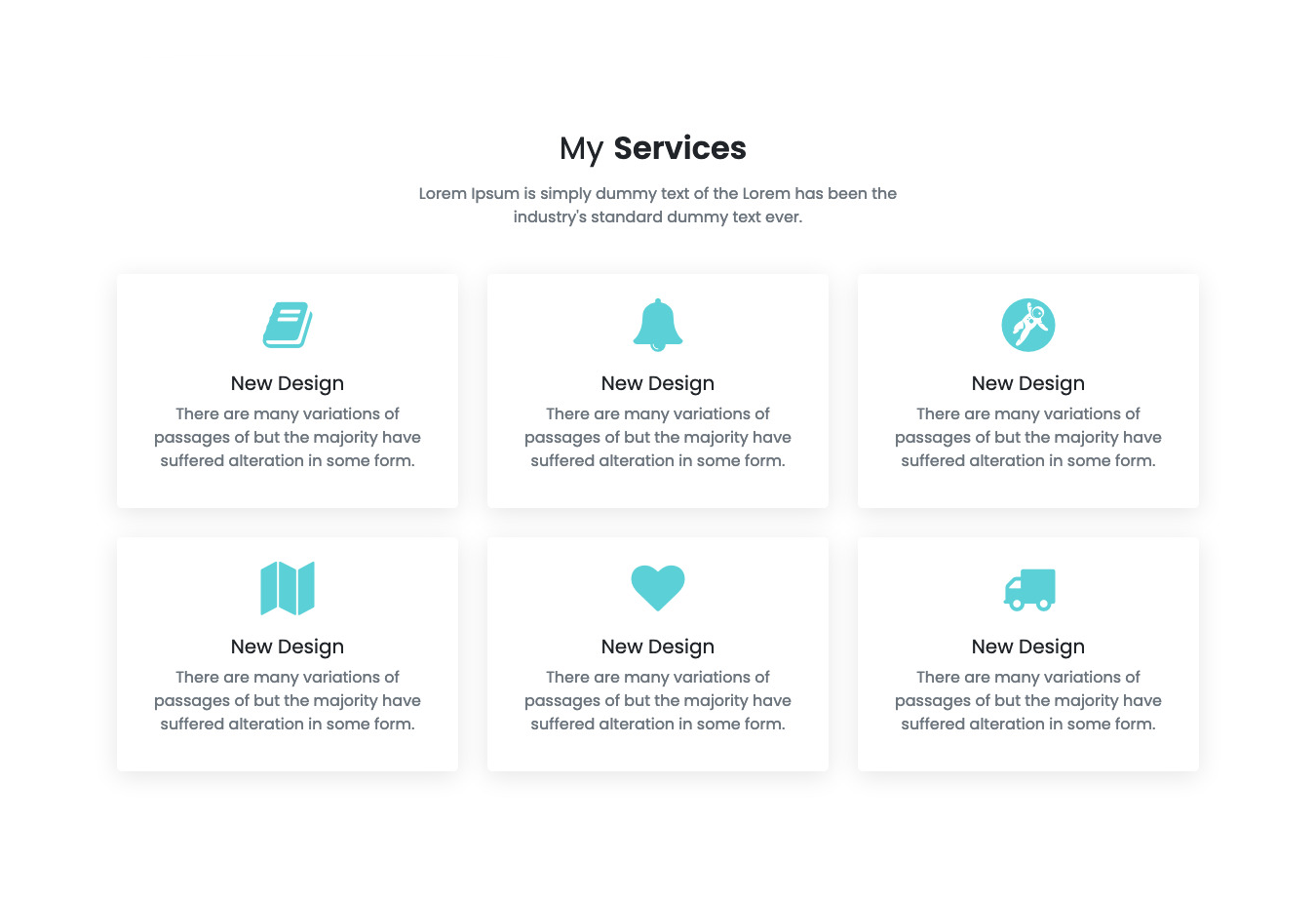 Floater - Personal Landing Page Template
