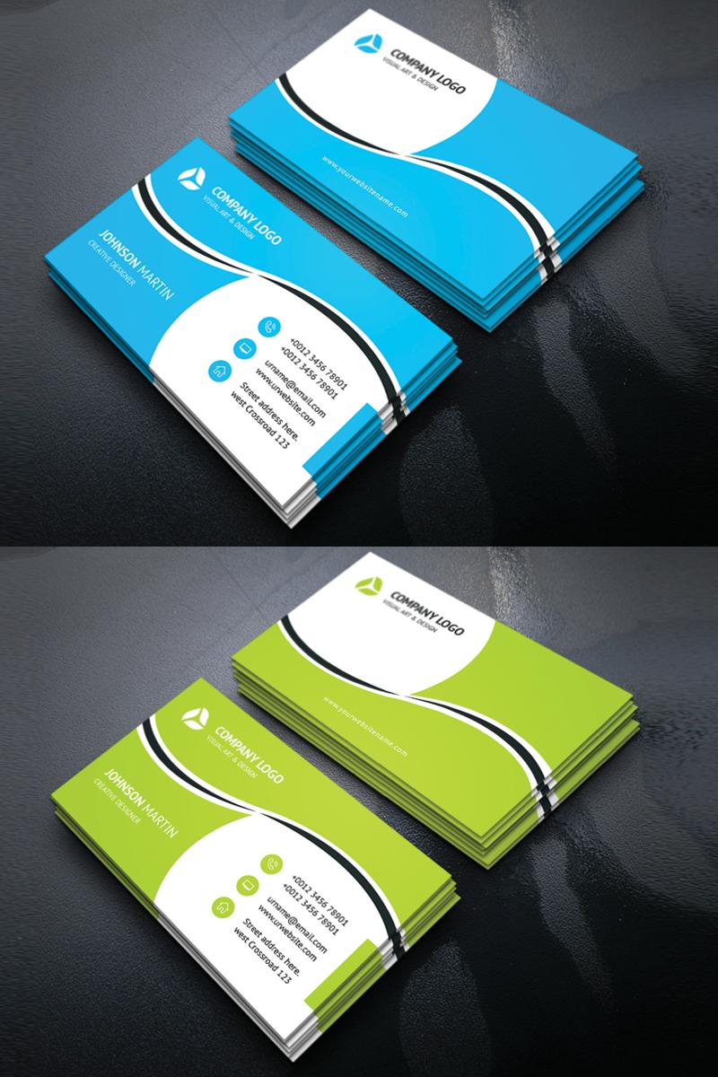 Johnson Martin Personal Business Card Corporate Identity Template #69244