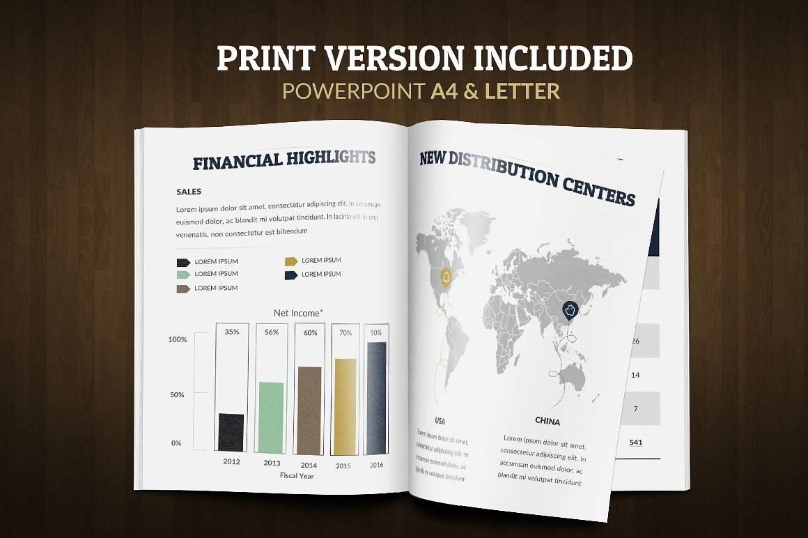 Annual report powerpoint template 65493 annual report powerpoint template big screenshot toneelgroepblik Choice Image