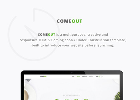 ComeOut - Multipurpose Coming Soon