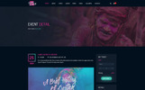 PSD Template over MP3 winkel