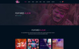 Template Photoshop  para Sites de Loja de MP3 №64851