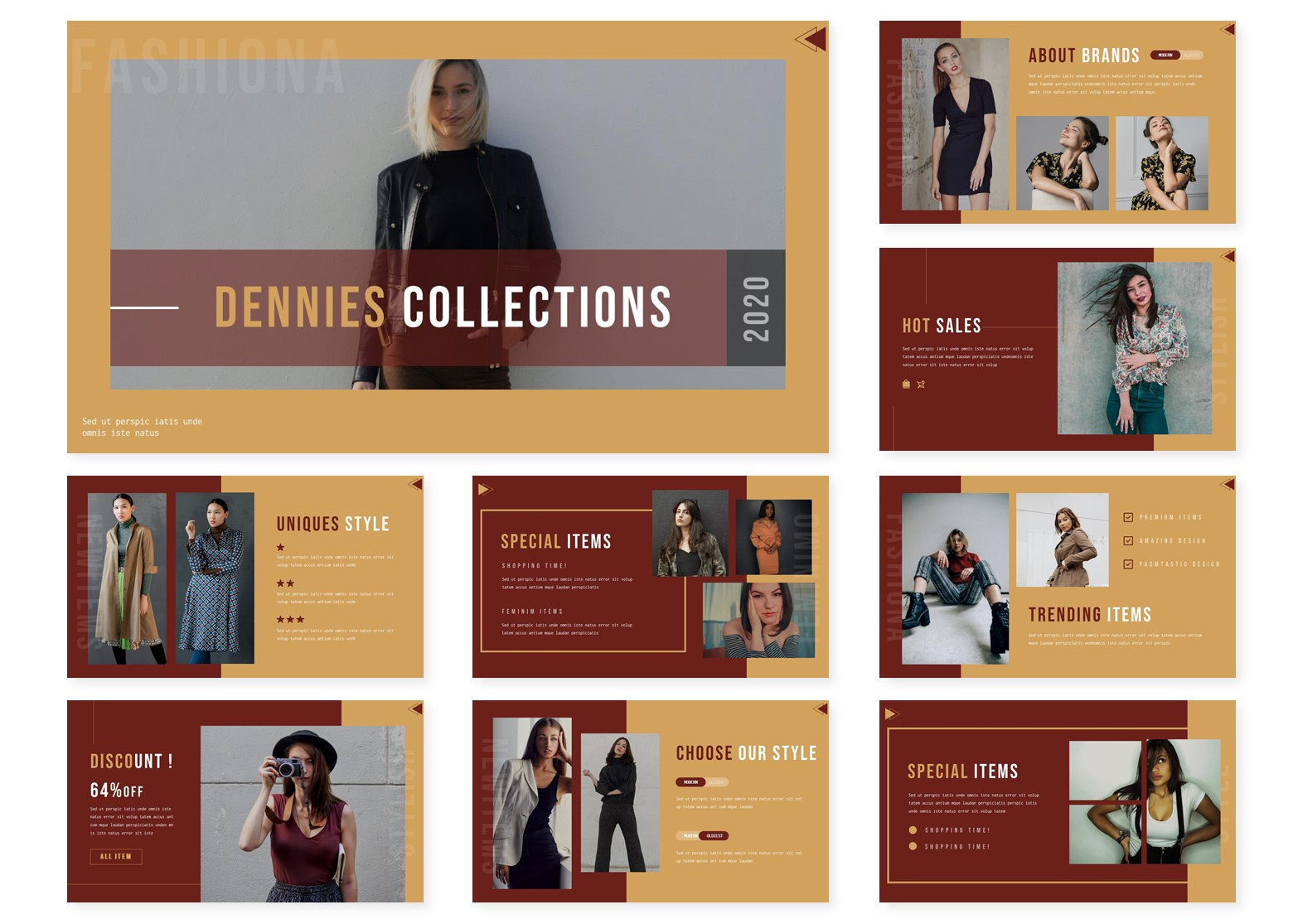 Dennies | PowerPoint Template