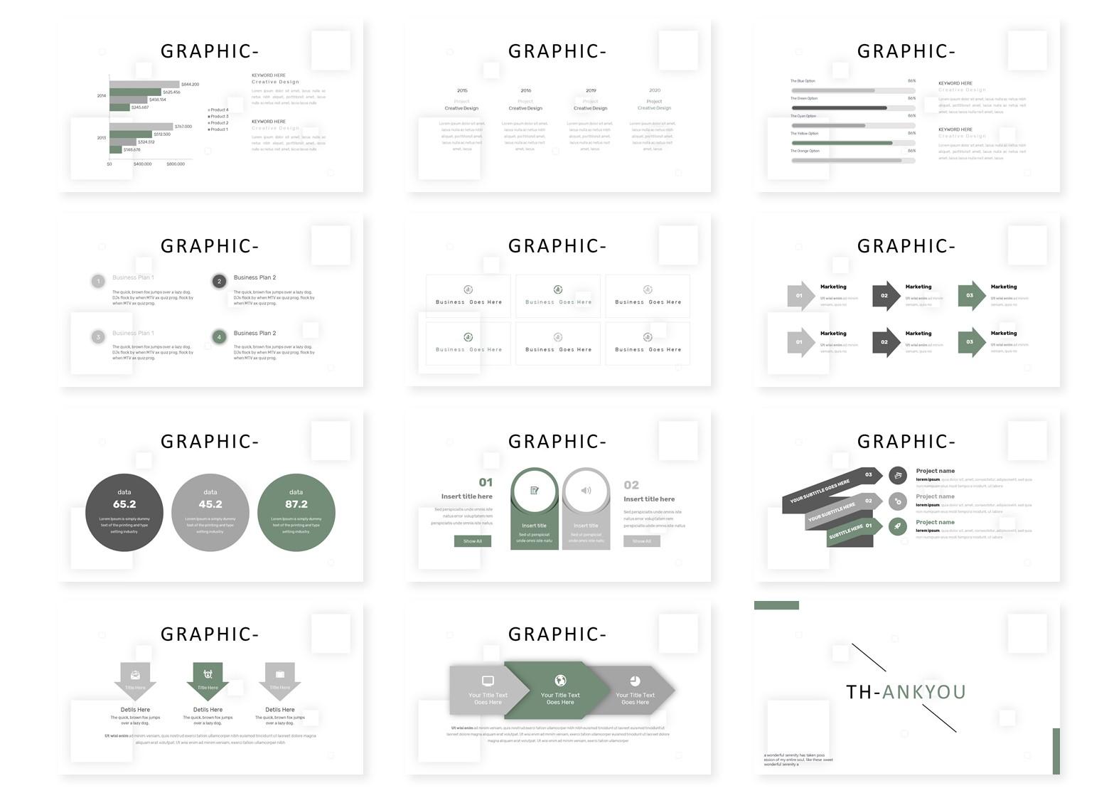 O'mahque | PowerPoint Template