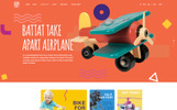 Baby Shop - Baby Store PSD Template