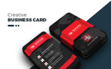 Clean Modern Creative Business Card Corporate Identity Template
