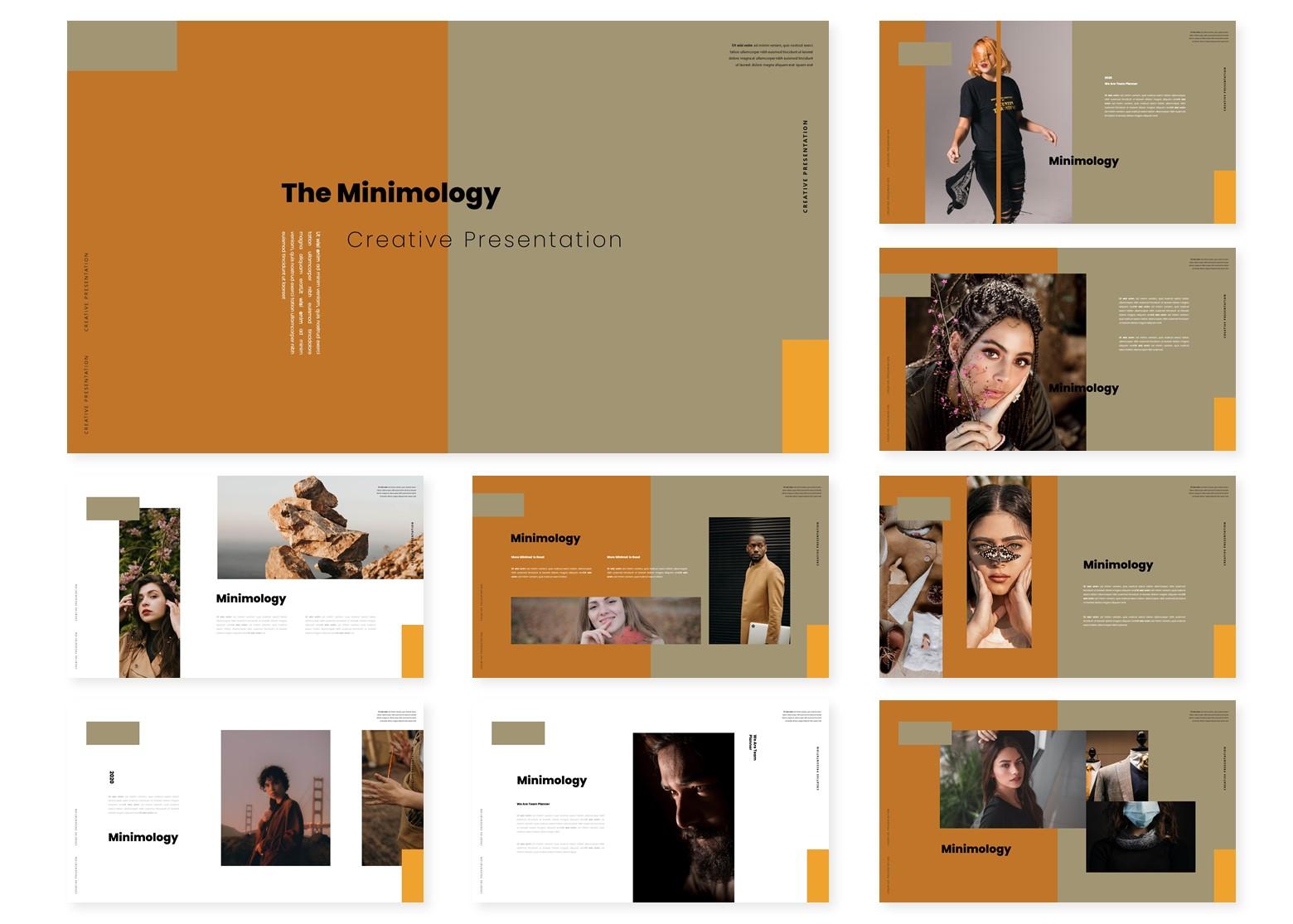 Minimology | PowerPoint Template