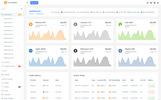 ICO Admin - Cryptocurrency Dashboard UI Kit Admin Template