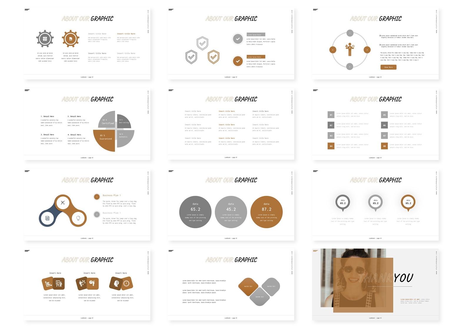 Higstylish   Keynote, Googleslide PowerPoint Template